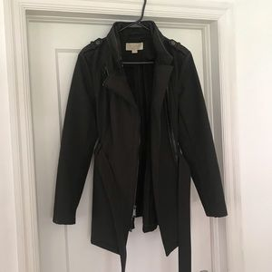 Michael Kors Rain Coat Jacket  (Hidden Hood)